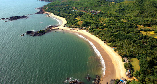 Om Beach in Gokarna, Karnataka