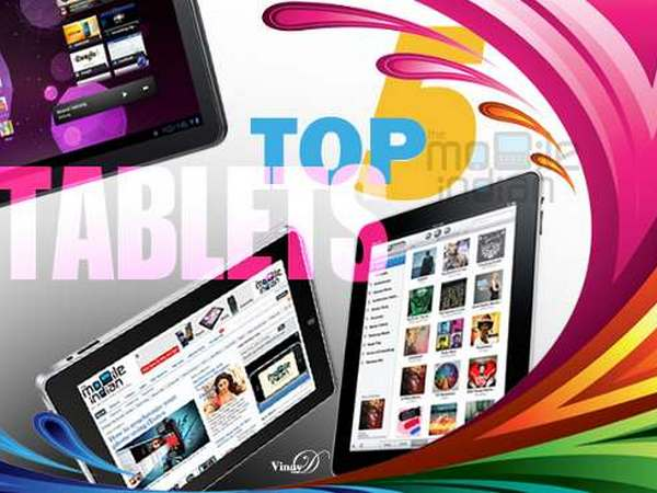 Top 5: Tablet PCs in India