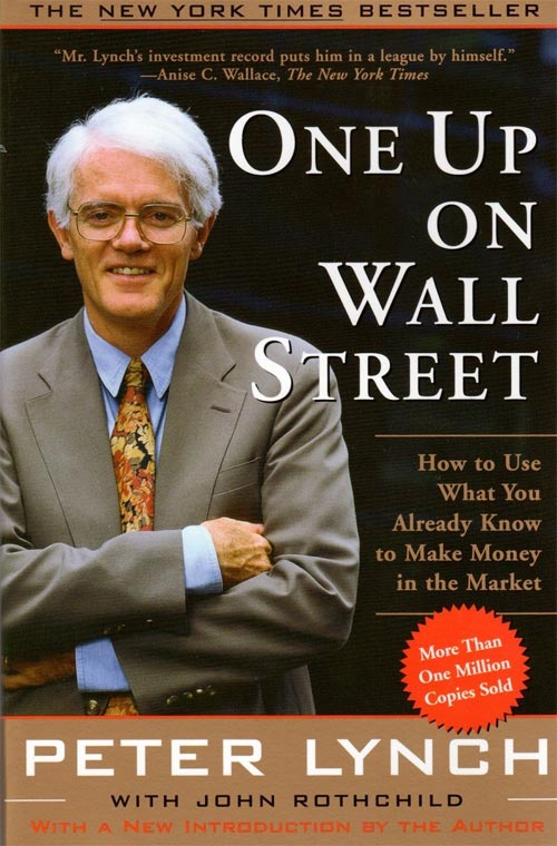 Book cover of One Up On Wall Street by Peter Lynch