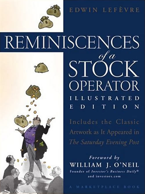 Book cover of Reminiscences of a Stock Operator by Edwin Lefevre