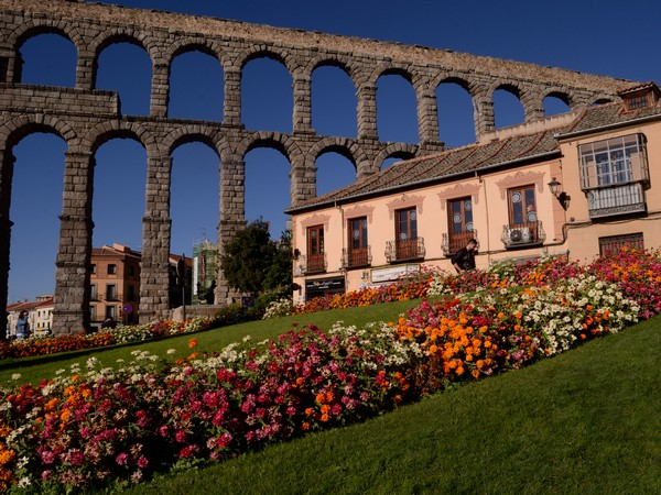 Legends attribute the aqueduct bridge of Segovia to a devil's handiwork