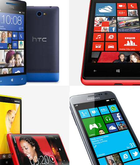 Top five Windows 8 phones worth checking out!