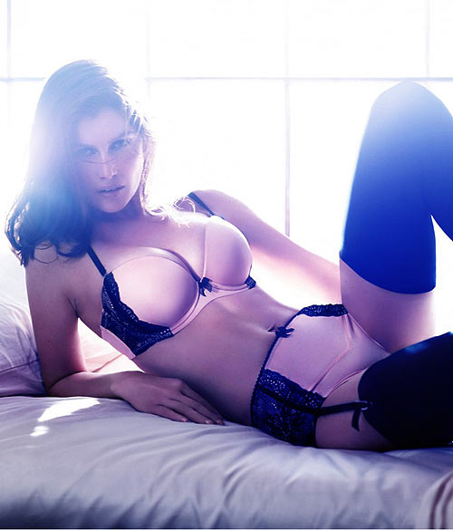 dabdd9b569 Don t miss the French actress and model s latest photoshoot for H M lingerie .