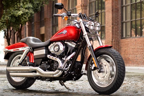 PICS: Harley's Fat Bob set to hit Indian roads!