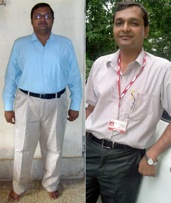 Weight loss: 'I lost 34 kg in a year'