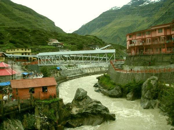 Alaknanda river, Badtrinath