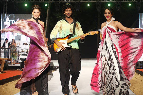 Nicole Huber, Purab Kohli and Hazel Keech for Swan by Gogee