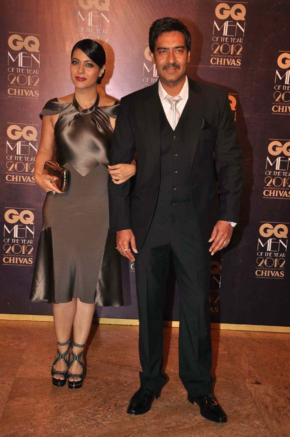 Ajay Devgn and wife Kajol