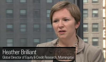 Heather Brilliant, Morningstar's director of global credit and equity research