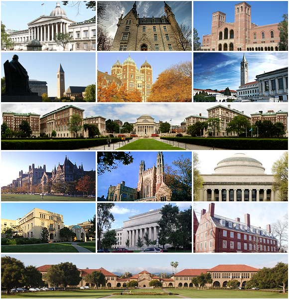 Times Higher Education world's top 20 universities 2012-13