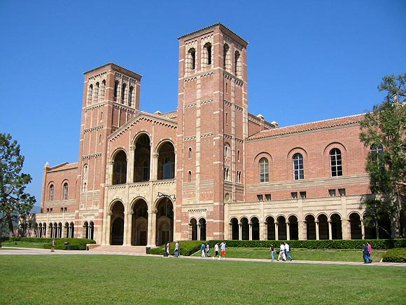 Royce Hall, main building of the University of California, Los Angeles