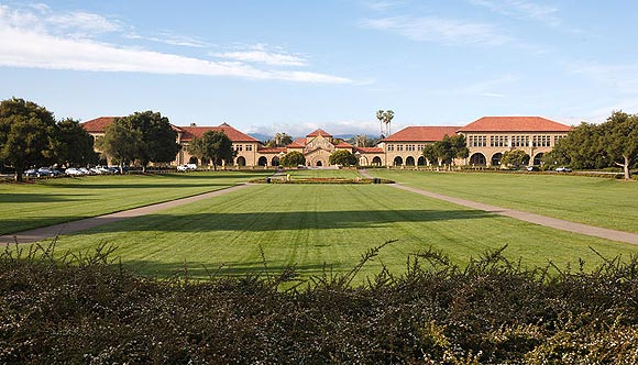 The Oval, Stanford University, Stanford, California.