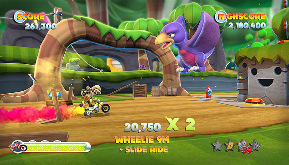 Gaming: Joe Danger 2 aims for box office gold