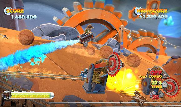 Gaming: Joe Danger 2 aims for box office gold
