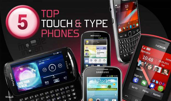 Don't fancy a touchscreen? Top 5 touch-n-type smartphones