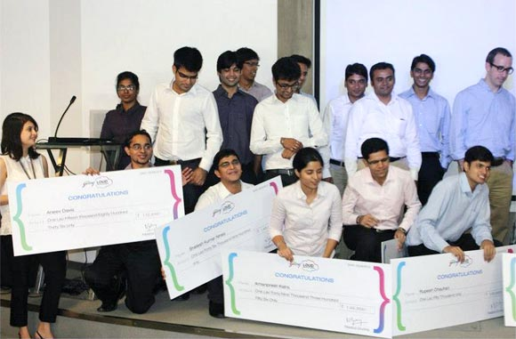 All the winners of the Godrej LOUD contest