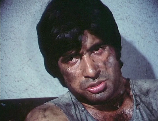 A still from the movie Kaala Patthar, for which Mr Bachchan received the Filmfare Best Actor Award