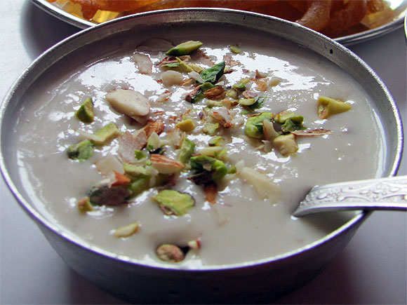 Rabri (sweet thickened milk)
