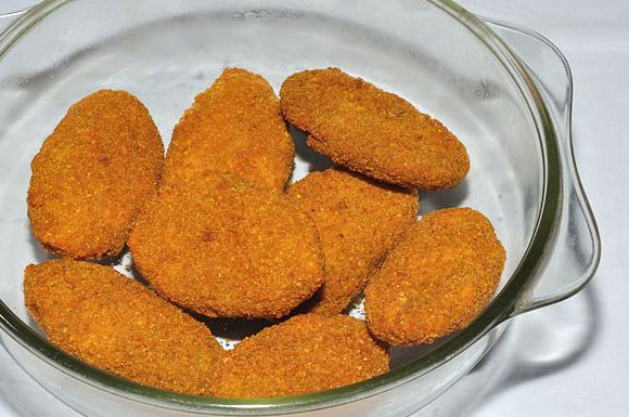 Vegetable Chops (vegetable cutlets)
