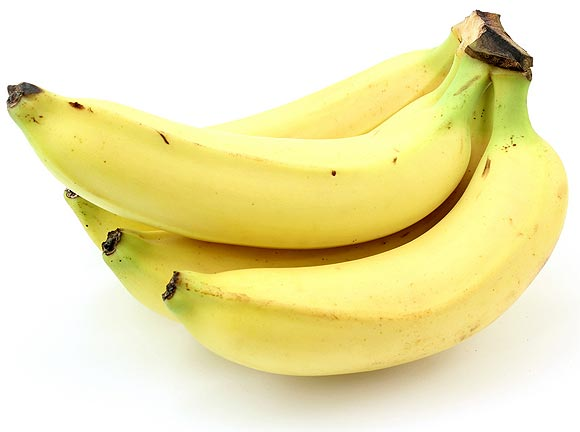 People who eat plenty of high-fibre foods like bananas are less likely to become constipated