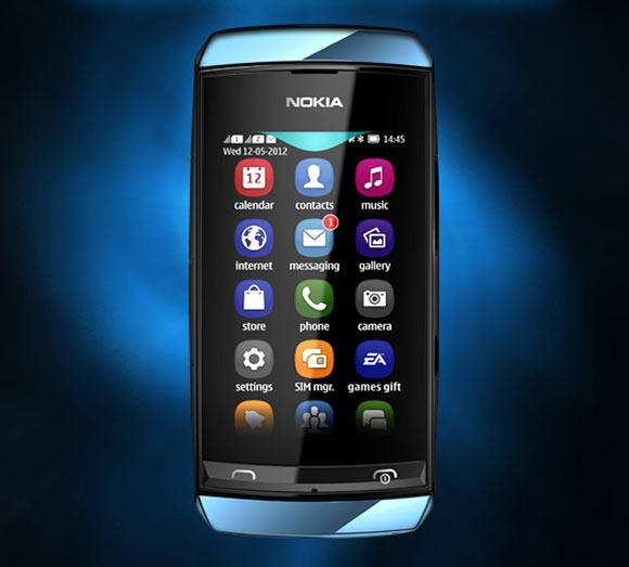 , 35 kb jpeg nokia asha 305 rs 4670 t he nokia asha 305 is a dual sim