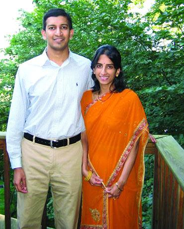 Raj and Sundari Chetty