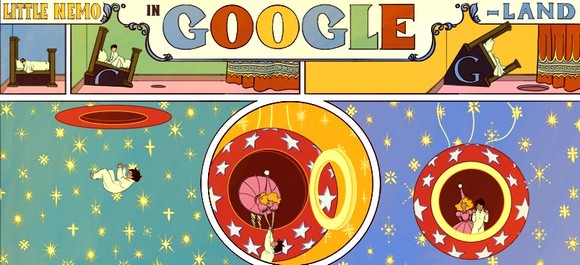 google doodles for winsor zenic mccay