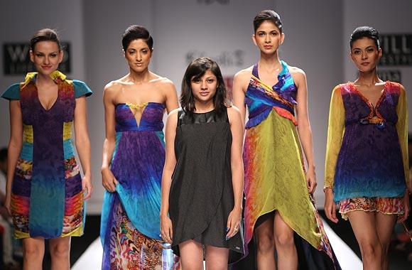 PIX: Young designers add colour, glitz to Delhi Wills FW
