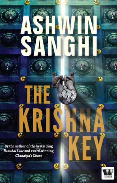 Book cover of The Krishna Key