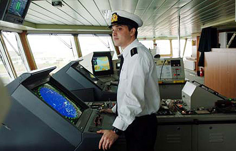 In merchant navy, you learn to develop people management skills while on the job.