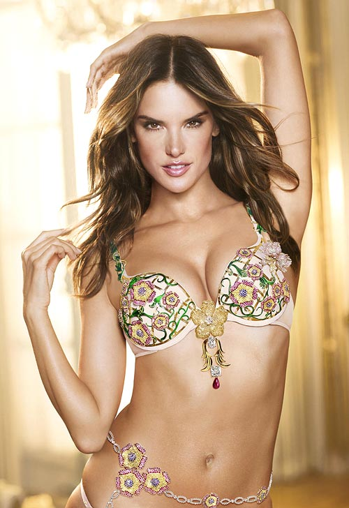 Alessandra Ambrosio in the 2012 Fantasy Bra by Victoria's Secret