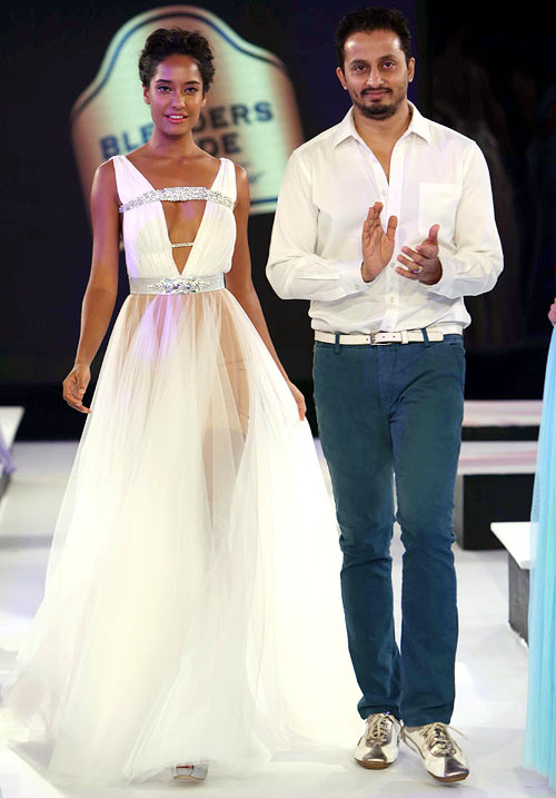 Lisa Haydon and Gaviin Miguel