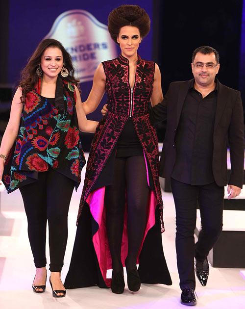 Nidhi, Neha Dhupia and Pankaj