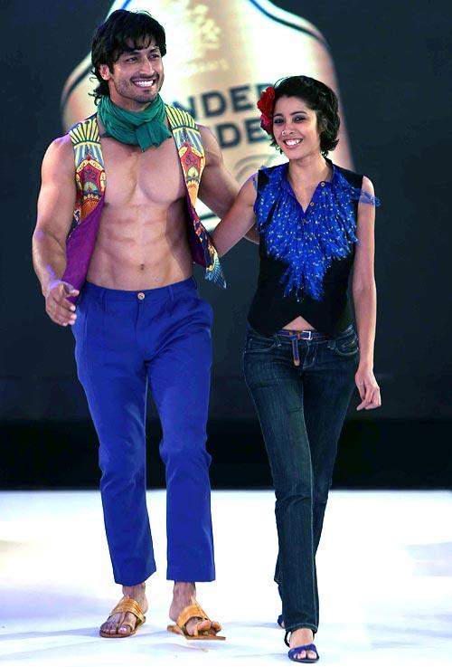 Vidyut Jamwal and Nida Mahmood