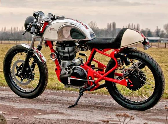 Coming soon: The sexy new Enfield Cafe Racer
