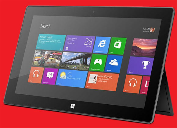 Microsoft Surface Tablet.