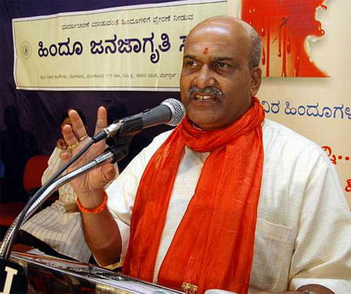 Pramod Muthalik of the Sri Ram Sene