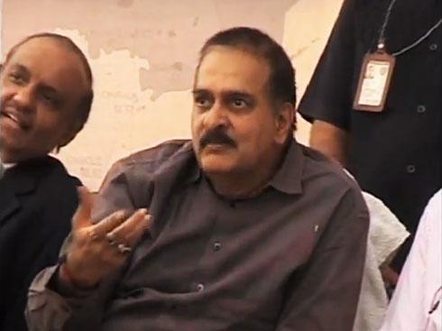 V Dinesh Reddy, police officer