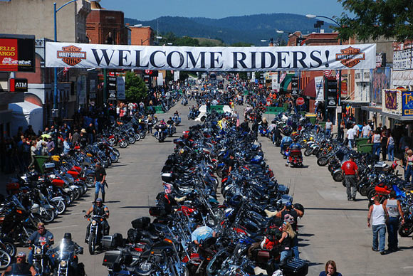 Wajeeh Khan takes you around the Sturgis Motorcycle Rally that