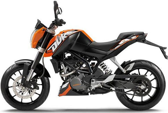 KTM Duke 200: Now in spanking new colours