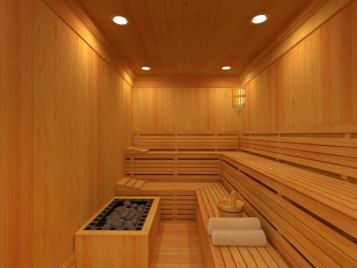 A stop at the sauna for a quick steam is good while on a detox diet