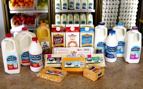 Avoid all dairy products while detoxing