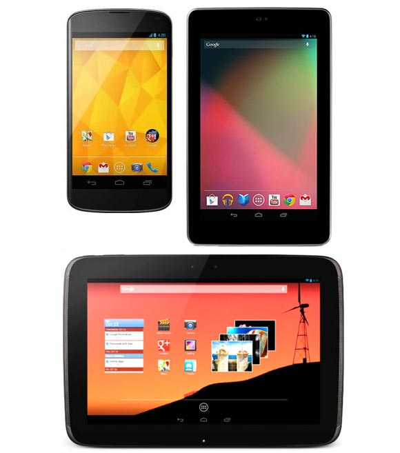 Google set to KILL Apple with new Nexus 4, Nexus 10?