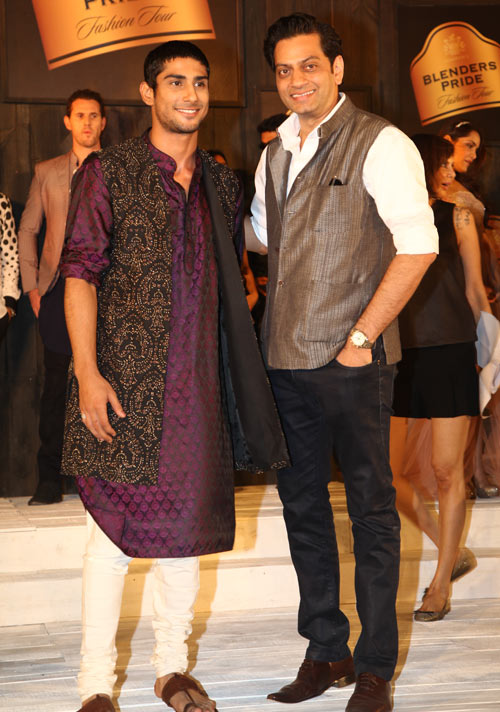 Prateik and Raghavendra Rathore