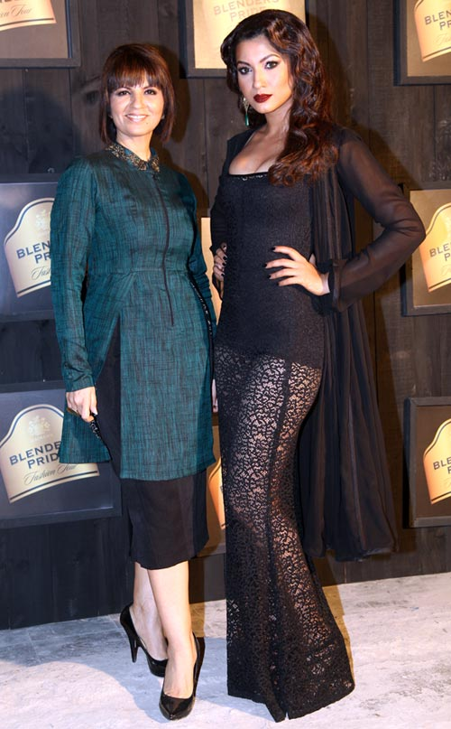 Neeta Lulla and Gauhar Khan