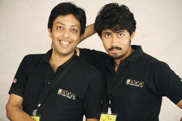 Sunil Vishnu and Karthik Kumar of Evam