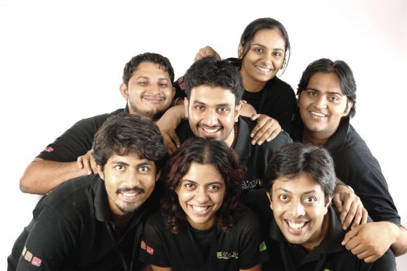 The Evam team