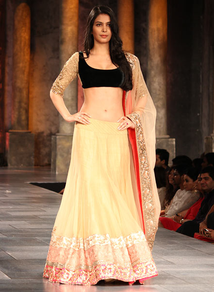 Ankita Shorey for Manish Malhotra