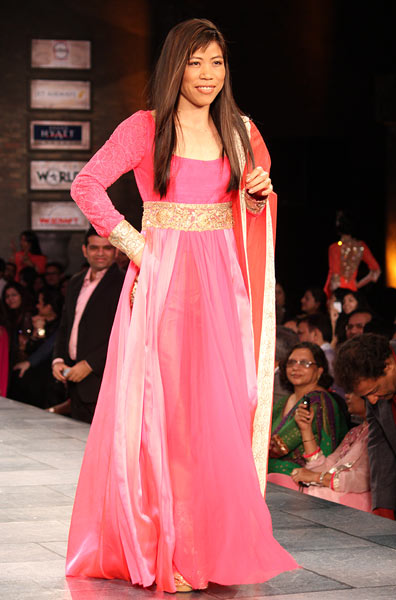 Mary Kom for Manish Malhotra