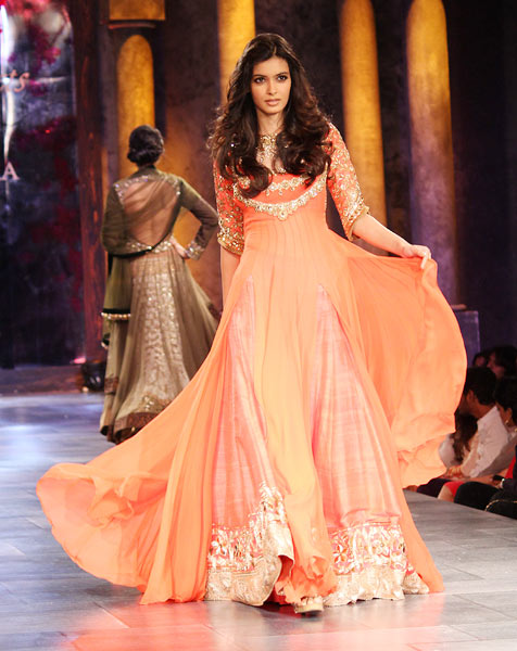 Diana Penty for Manish Malhotra